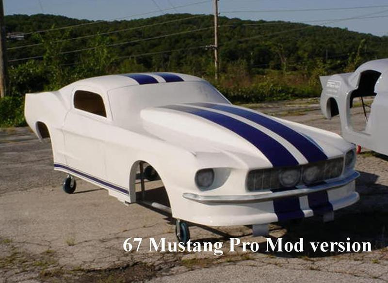 Jeffers Pro Cars 67 Mustang Larry Jeffers Race Cars