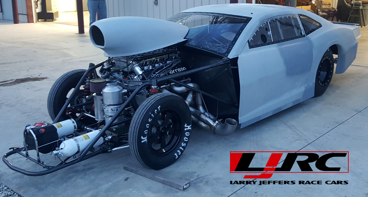 ljrc s latest drag radial build keith haney larry jeffers race cars. Black Bedroom Furniture Sets. Home Design Ideas