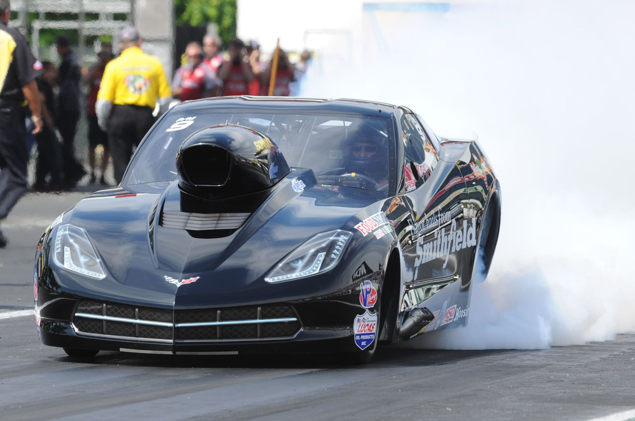 c7-corvette-pro-mod-burnout-front-view